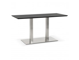 Table / bureau design 'MAMBO' noir - 150x70 cm