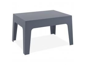 Table basse 'MARTO' grise foncée en matière plastique