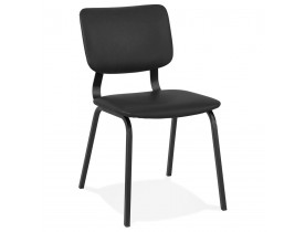 Chaise vintage 'MELODY' noire