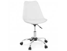 Chaise de bureau 'MONKY' blanche design