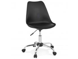 Chaise de bureau 'MONKY' noire design