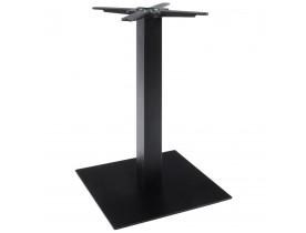 Pied de table 'NERO' 75  noir en métal