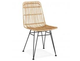 Chaise design 'PANAMA' en rotin