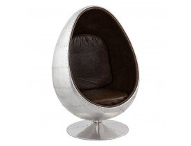 fauteuil uf egg chair au look intemporel alterego france. Black Bedroom Furniture Sets. Home Design Ideas