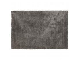 Tapis de salon shaggy 'TISSO' gris - 240x330 cm