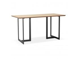 Table à diner / bureau design TITUS en bois naturel - 150x70 cm - Alterego