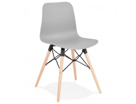 Chaise scandinave 'TONIC' grise design