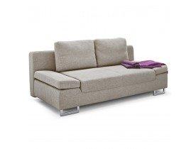 Canapé-lit convertible WAZA en tissu beige - Alterego