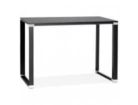 Table haute / bureau haut 'XLINE HIGH TABLE' en bois noir - 140x70 cm