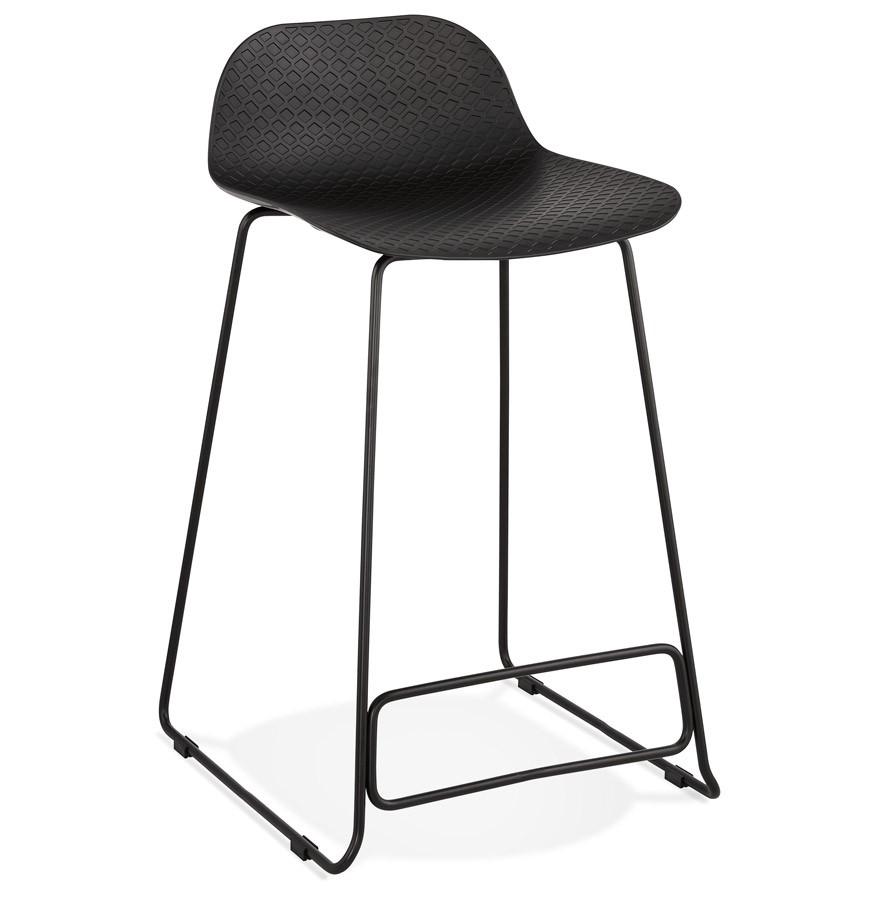 tabouret snack babylos mini noir tabouret style industriel. Black Bedroom Furniture Sets. Home Design Ideas