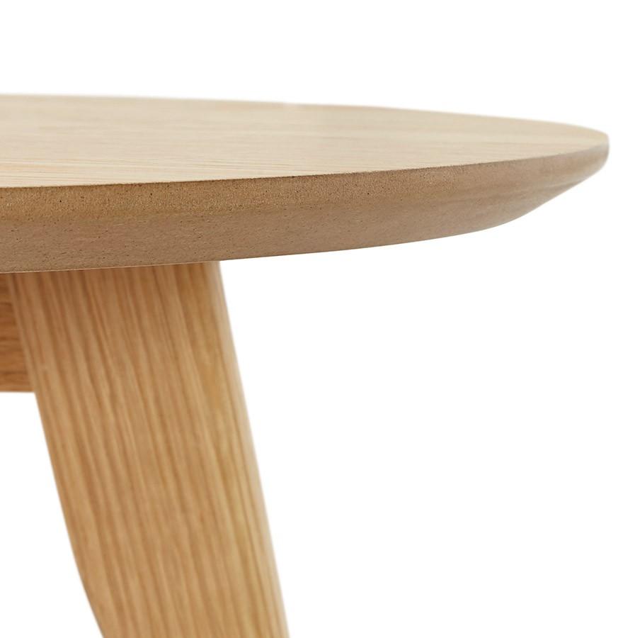 Tables gigognes ronde gaby en bois naturel table d 39 appoint - Tables gigognes en bois ...