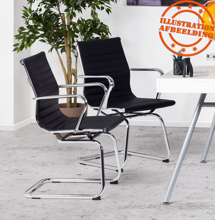 chaise de bureau design giga noir fauteuil de bureau. Black Bedroom Furniture Sets. Home Design Ideas
