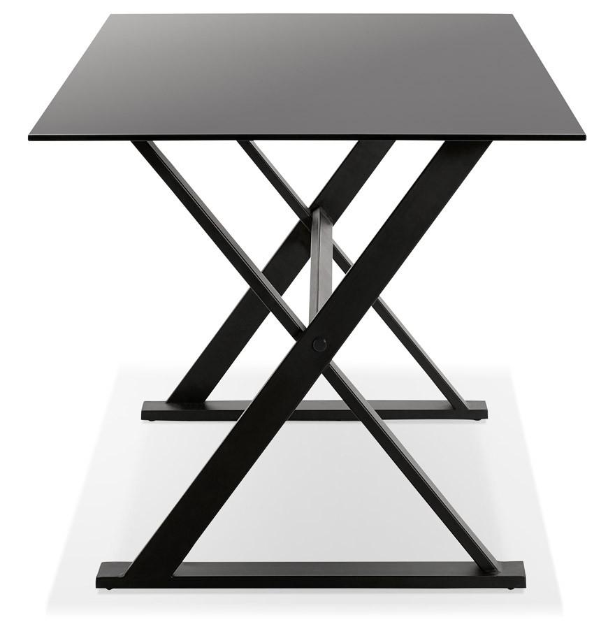 havana black glass 160 h2 03 Résultat Supérieur 49 Incroyable Bureau Verre Noir Design Image 2017 Ojr7