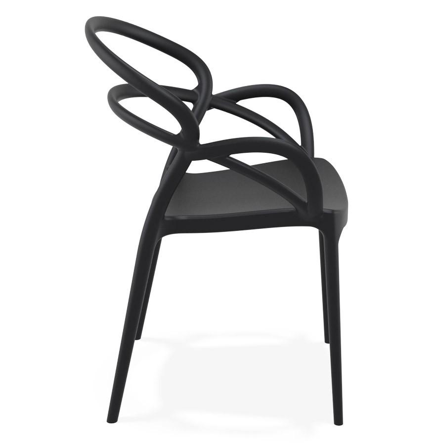 Chaise De Terrasse JULIETTE Design Noire