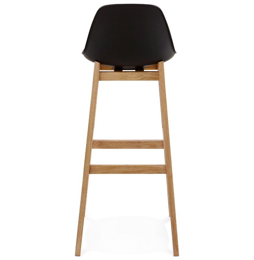 tabouret de bar kiko noir style scandinave tabouret design. Black Bedroom Furniture Sets. Home Design Ideas