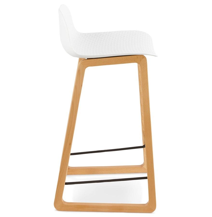 tabouret snack maki mini blanc style scandinave tabouret design. Black Bedroom Furniture Sets. Home Design Ideas