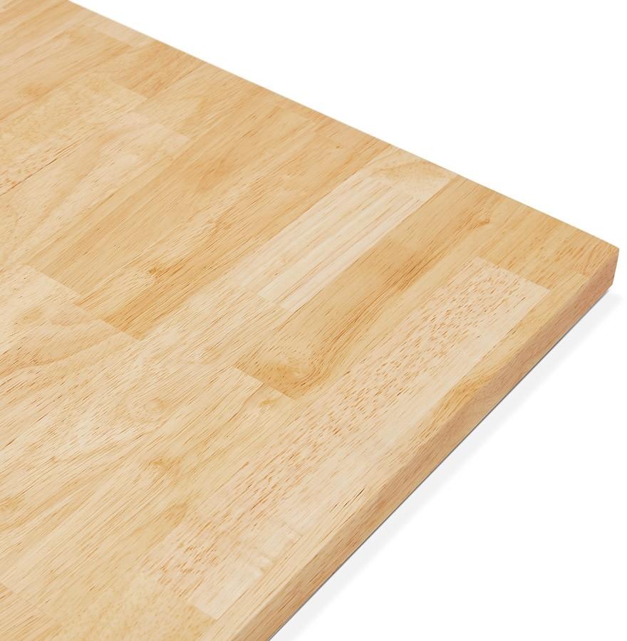 plateau de table massivo carr en bois massif 70x70 cm. Black Bedroom Furniture Sets. Home Design Ideas