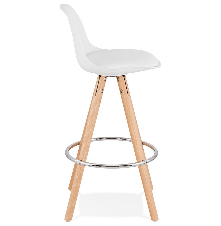 tabouret mi hauteur tatami mini blanc tabouret snack. Black Bedroom Furniture Sets. Home Design Ideas