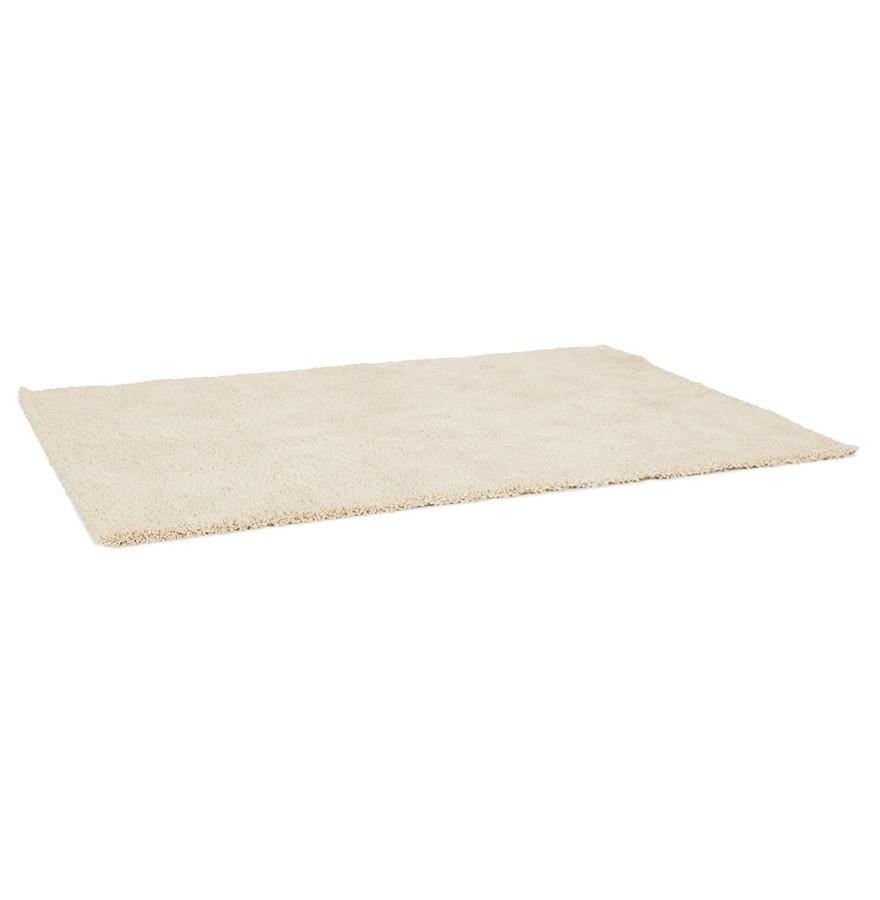 tapis shaggy tisso beige tapis de salon 120x170 cm. Black Bedroom Furniture Sets. Home Design Ideas