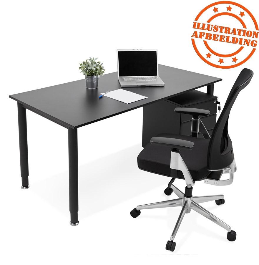 Fauteuil de bureau design ultra en tissu noir for Bureau ultra design