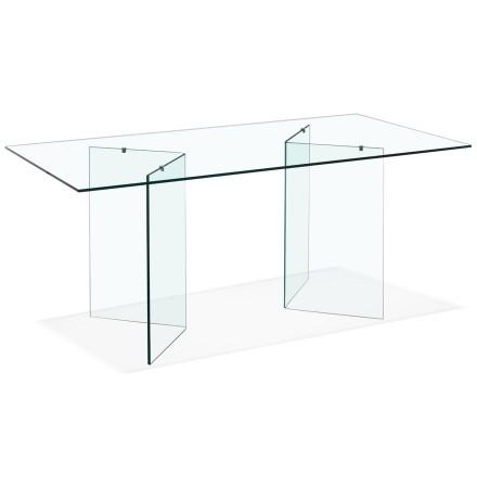 Design glazen bureau / eettafel 'BOBBY TABLE' - 180x90 cm