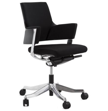 Moderne, zwarte bureaustoel BOSS - Alterego