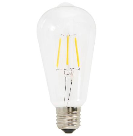 Vintage gloeilamp 'BUBUL LED LONG' met led