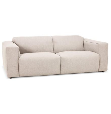 Rechte canapé 'CANYON LARGE' beige - design canapé 2,5 plaatsen