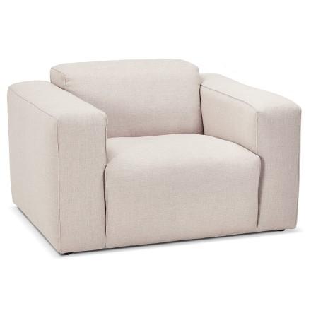 Design salonzetel 1 zitplaats 'CANYON MICRO' beige