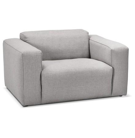 1,5-zits fauteuil 'CANYON MINI' lichtgrijs