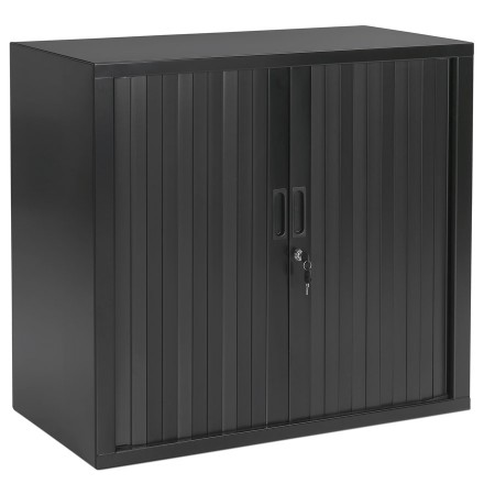 Klein 'CLASSIFY' donkergrijs kast met roldeur - 72x80 cm
