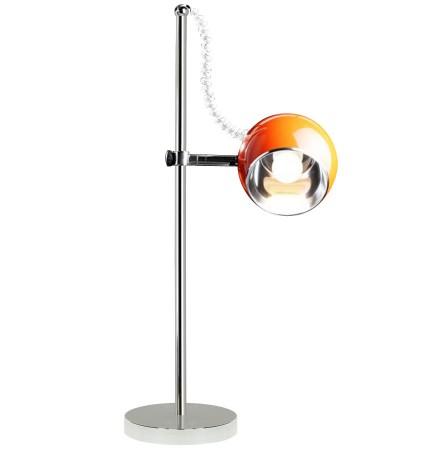 Oranje bureaulamp / leeslamp 'ENNA'