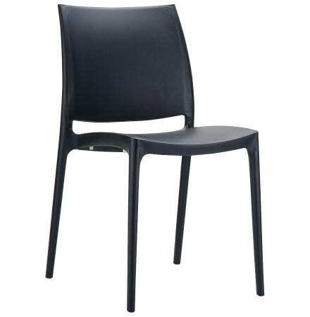 Designstoel 'ENZO' zwart