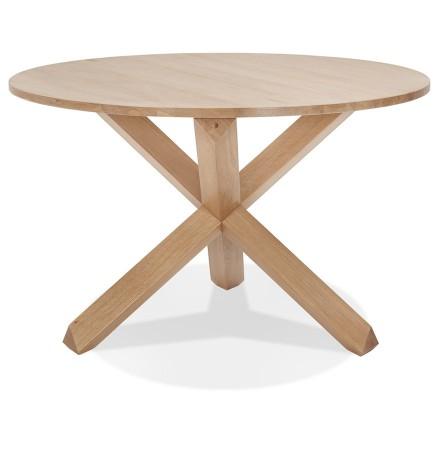 Ronde massief eiken 'FATY' designtafel