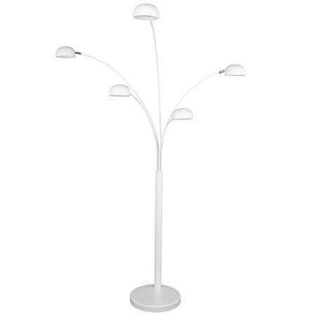 Witte lamp 'FIVE BOWS' met 5 armen