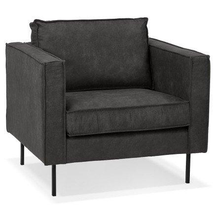 1-persoons lounge zetel 'JANE MICRO' donkergrijs