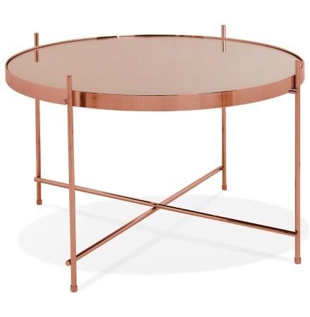 Lage tafel 'KOLOS MEDIUM' koperkleurig