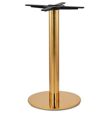Ronde tafelpoot 'LIDO' 75 van goudkleurig metaal