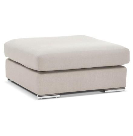 Design poef 'LUCA ONE' beige