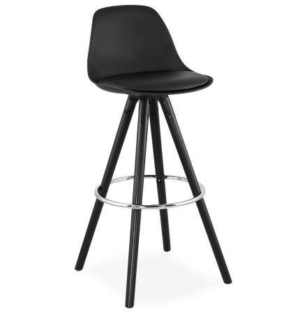 Design barkruk 'MISTIK' zwart