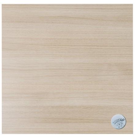 Vierkant tafelblad 'NATO' 68x68cm uit hout. Afgewerkt met naturel hout.