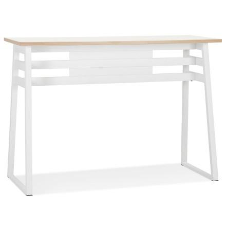 Witte hoge bartafel 'NIKI' - 150x60 cm