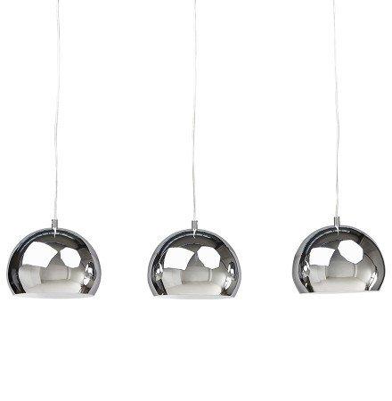 Hanglamp PENDUL met drie verchroomde bollen - Alterego