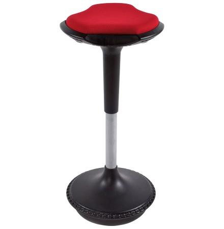 Rode, ergonomische kruk 'SWING' met schommelsysteem