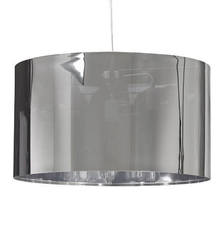 Hanglamp 'TRIKO' met verchroomde lampenkap