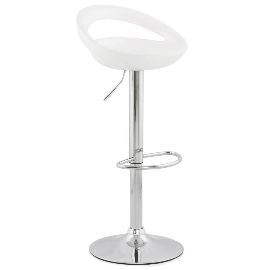 Moderne Witte Barstoelen.Design Kruk Alterego Nederland