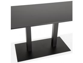Design tafel / bureau 'AUSTIN' zwart - 160x80 cm
