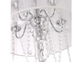Barokke staande lamp 'BAROK' met witte passementstrookjes