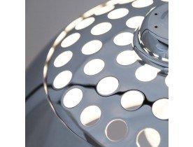Boogvormige design lamp 'BIG BOW XL' met verchroomde lampenkamp