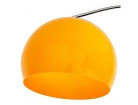 Boogvormige design lamp 'BIG BOW XL' met oranje lampenkamp